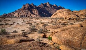 photo safari in south Africa - Spitzkoppe