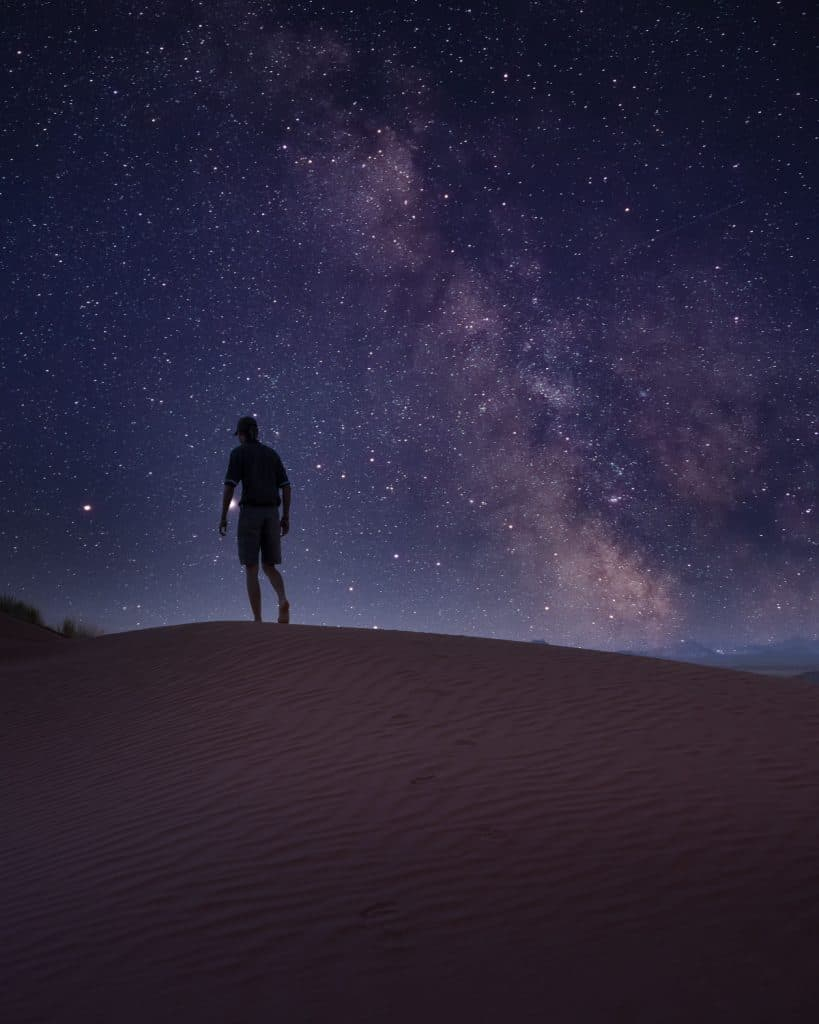 night photography in Namibia